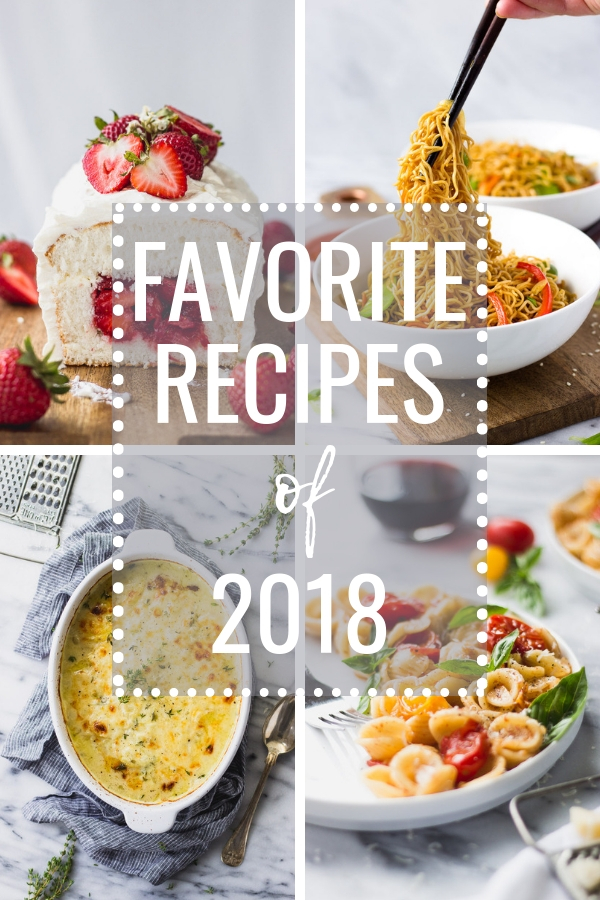 Top Recipes of 2018 | Fork in the Kitchen