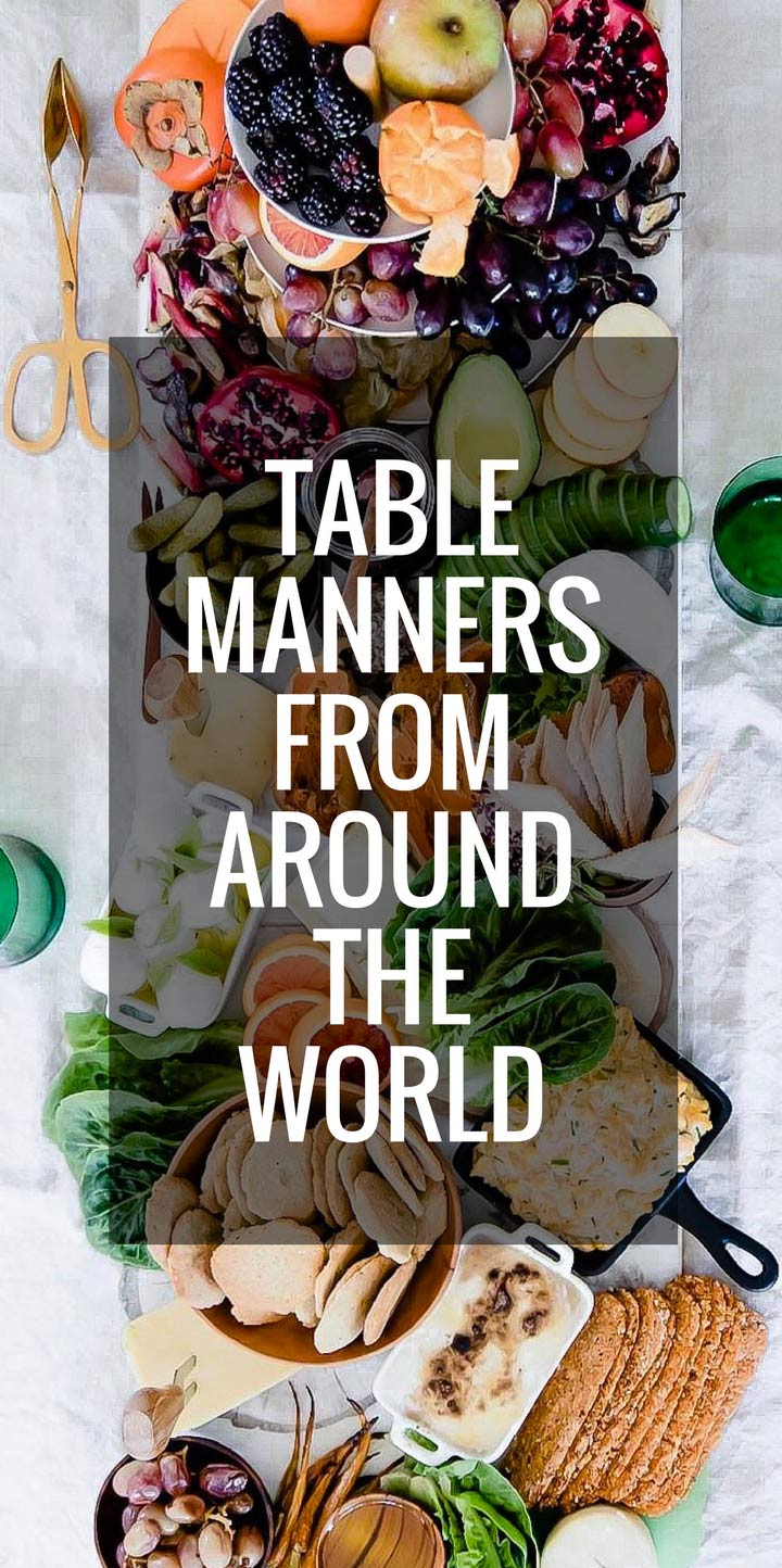 Are you unknowingly a rude dinner guest when dining abroad? Learn about global table manners and dining etiquette from cultures around the world so you're not
