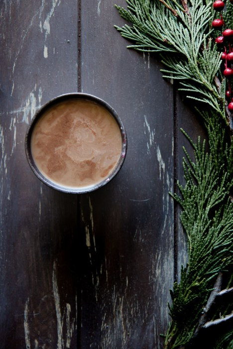 Peppermint Mocha Matcha Latte, a minty take on traditional hot cocoa made with unsweetened cocoa powder, matcha, peppermint extract, and plant-based milk. Perfect for the holidays!