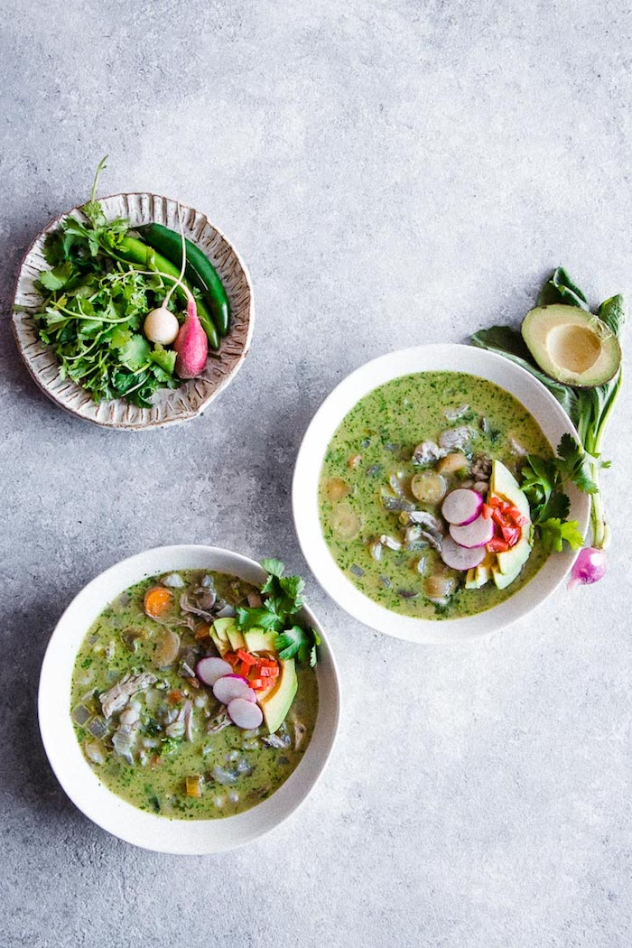 Pozole Verde, a Healthy Take on the Mexican Tradition
