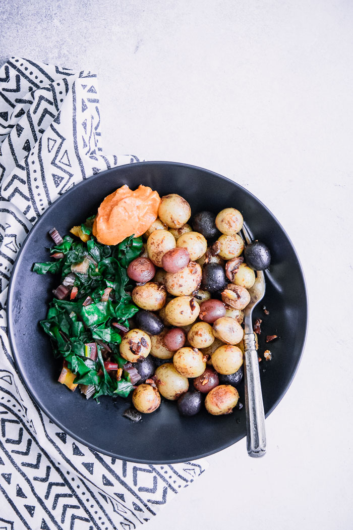 Smoked Paprika Skillet Potatoes
