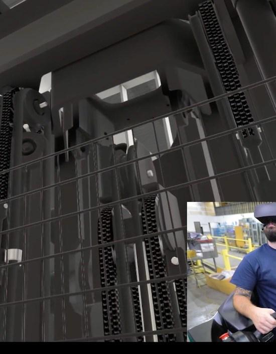 Forklift Training Video VR