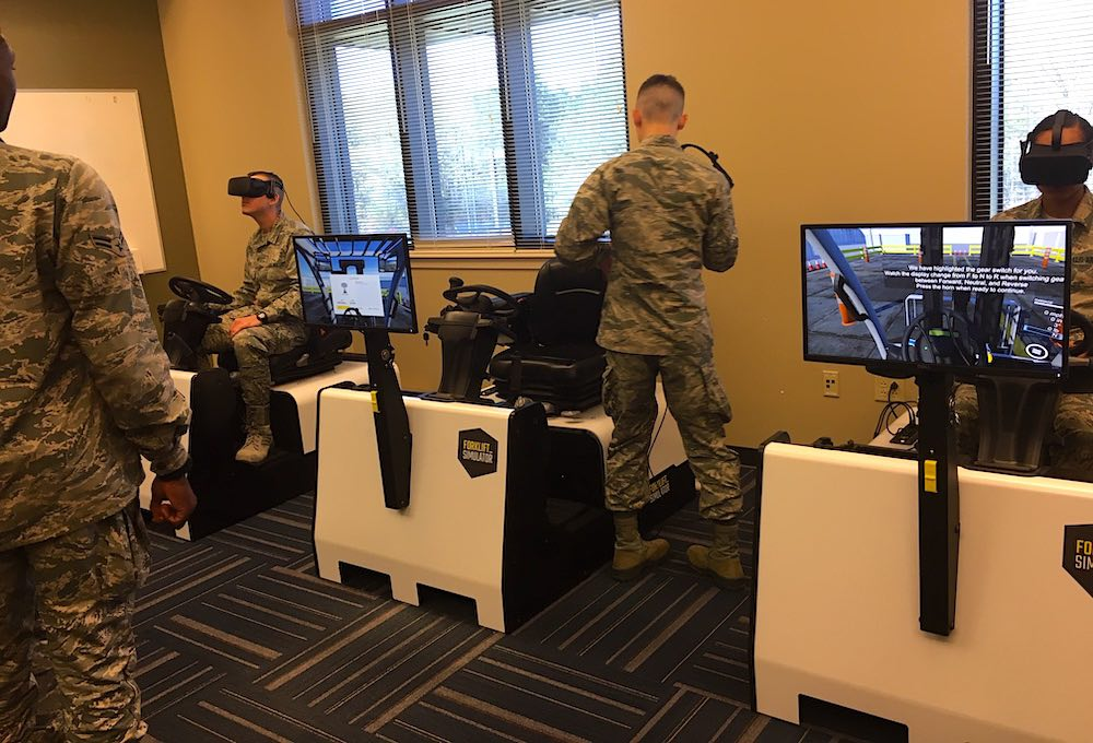 VR Forklift Training US Army