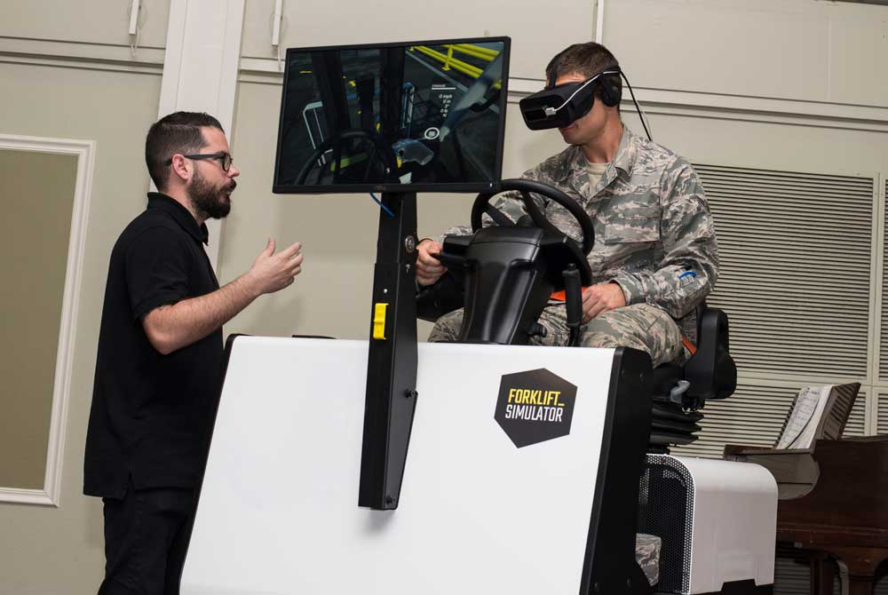 virtual reality demonstration use army