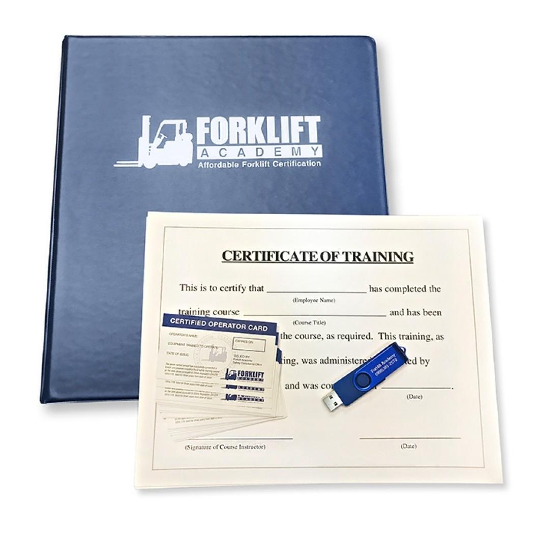 Forklift Certification Training Kit