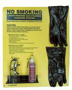 Forklift Propane Cylinder PPE Kit