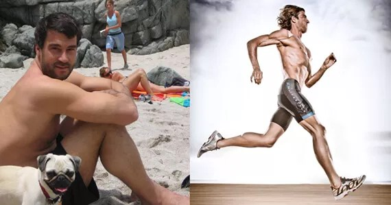 RichRollBeforeAndAfter 570x299 From Couch Potato to One of the World's Fittest Men