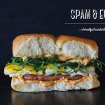 Spam and Eggs Breakfast Sandwich
