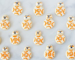 holiday cookie box christmas fork to belly bb8 star wars