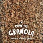 Olive Oil Granola w/ Almonds, Hazelnuts & Quinoa