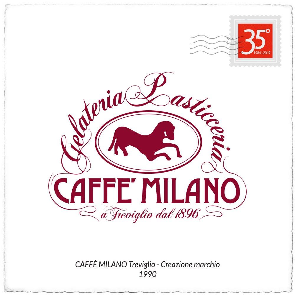 1990 logo Caffe Milano
