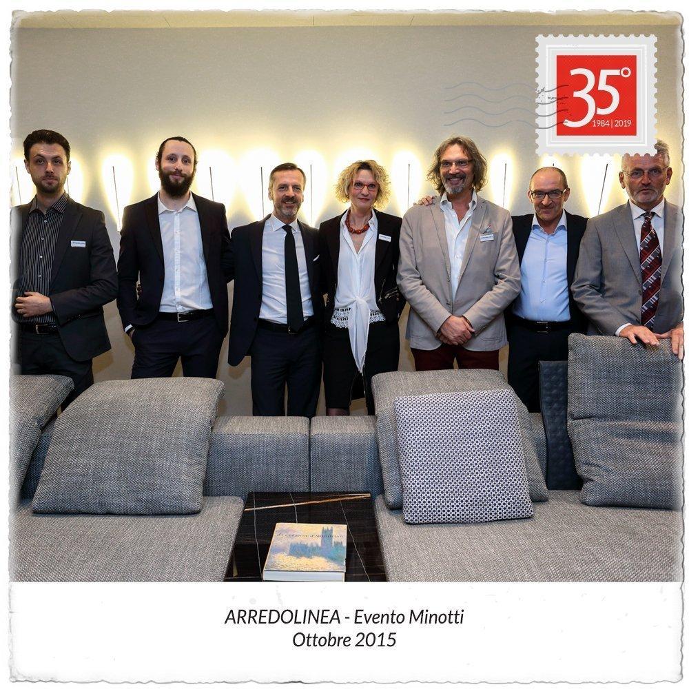 2015 Evento Minotti Arredolinea