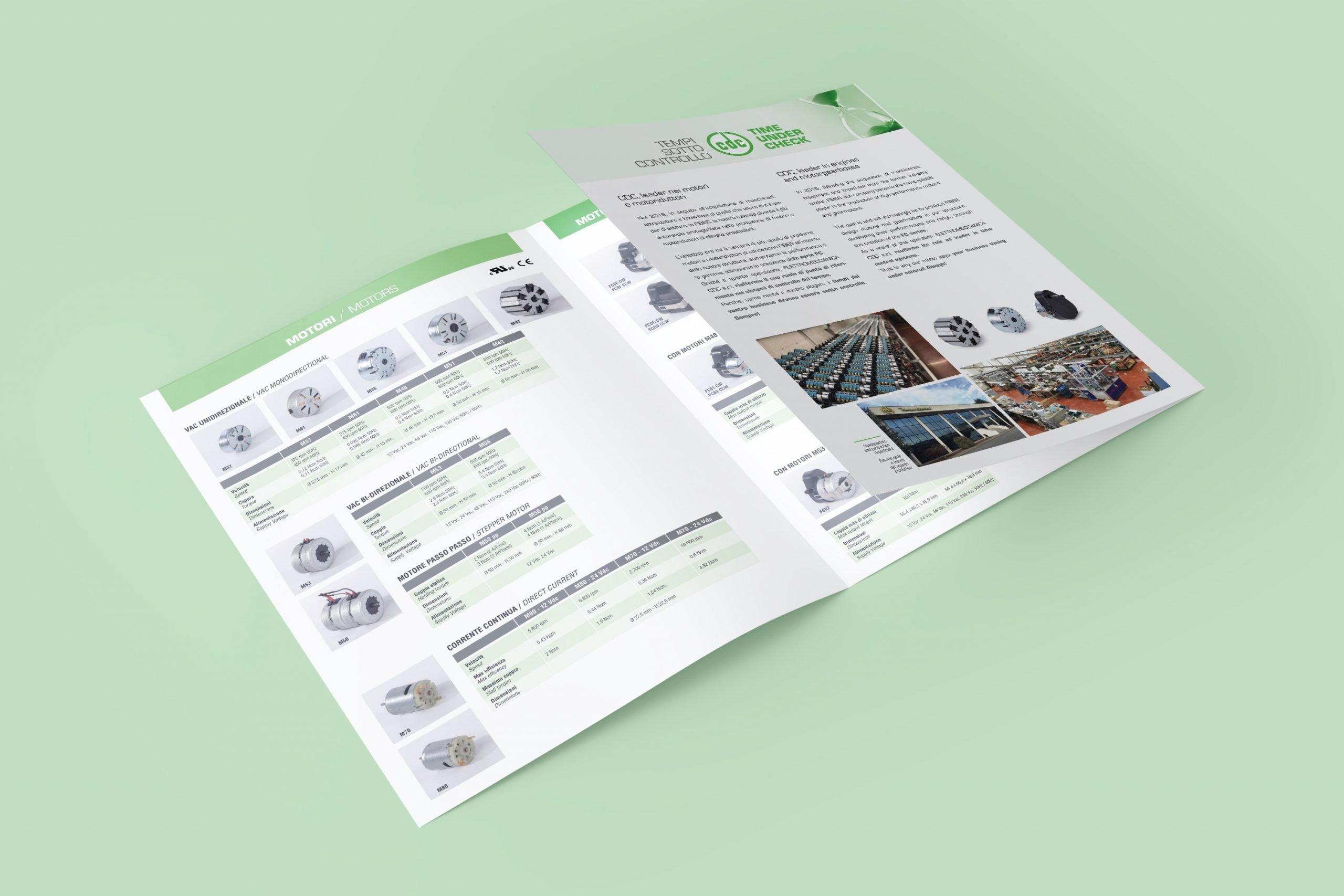 CDC Elettromeccanica - Progettazione Flyer Commerciale
