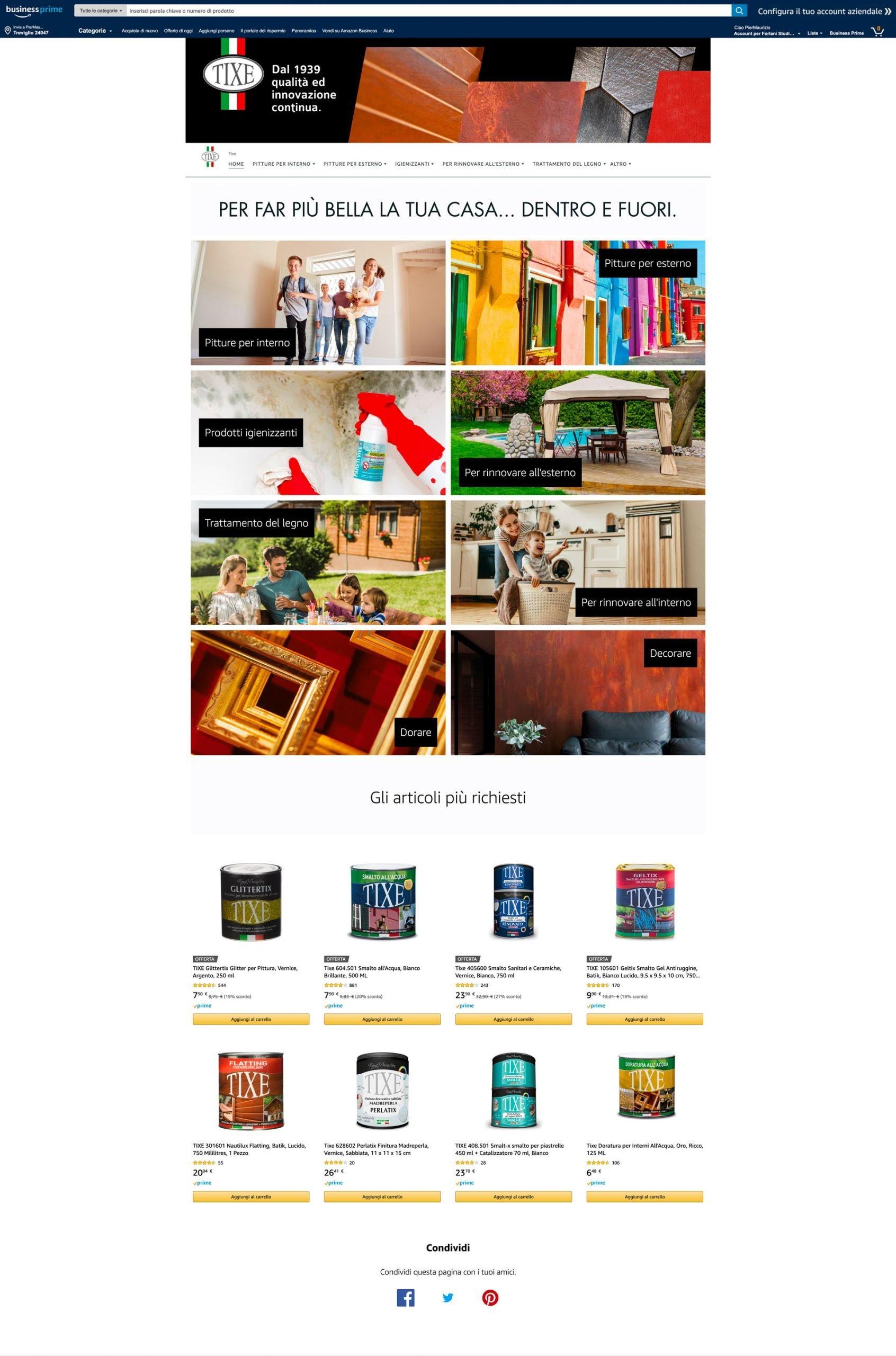Amazon Store Tixe