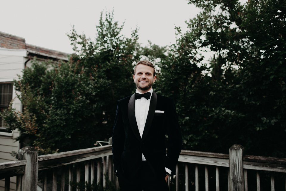 Modern Wedding Groom Virginia