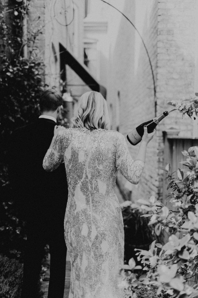 Modern Wedding Bride Virginia