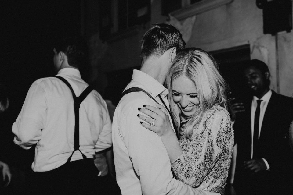 Modern Wedding Bride and Groom Dance Virginia