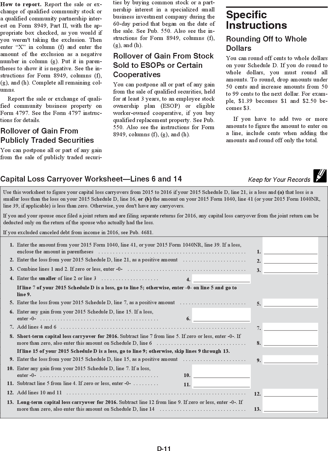 Worksheet Capital Loss Carryover Worksheet Grass