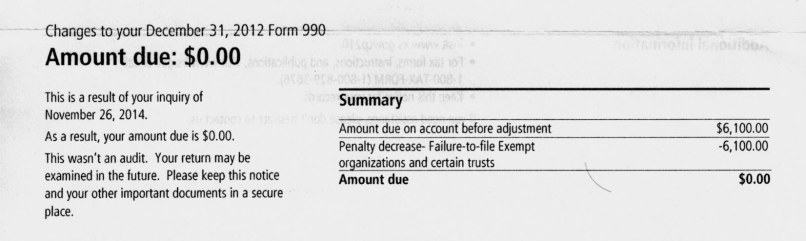Sample Irs Penalty Abatement Letter Inviview