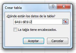 Principales funciones de Excel8