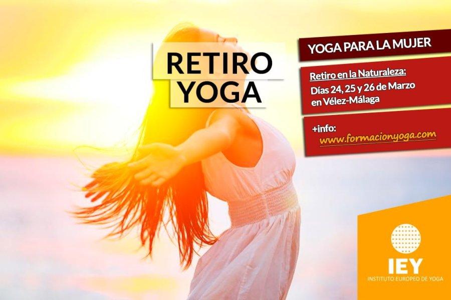 RETIRO DE YOGA PARA LA MUJER | Formación Yoga