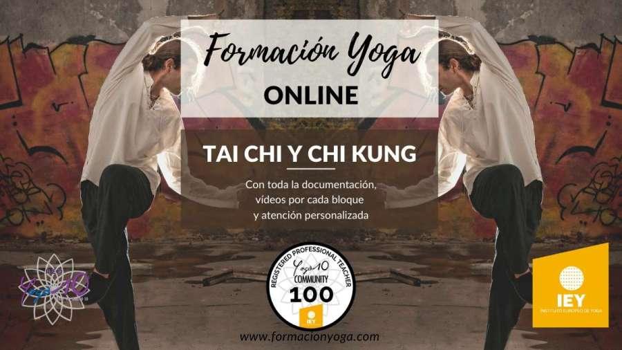 formación yoga online tai chi y chi kung