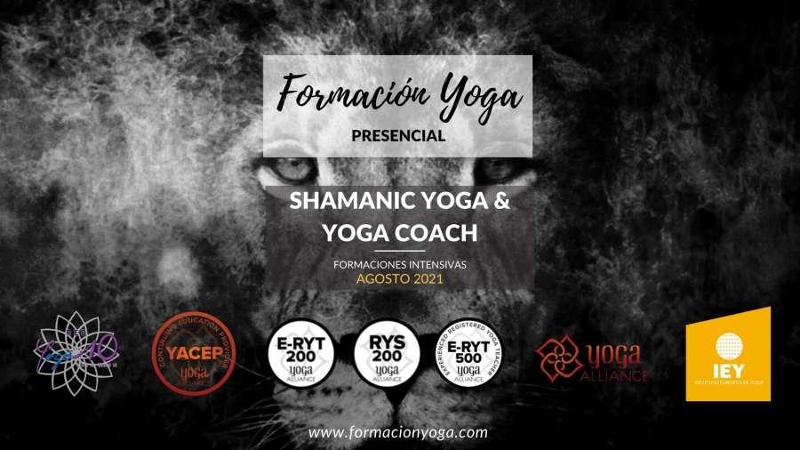 Shamanic yoga y yoga coach 2021