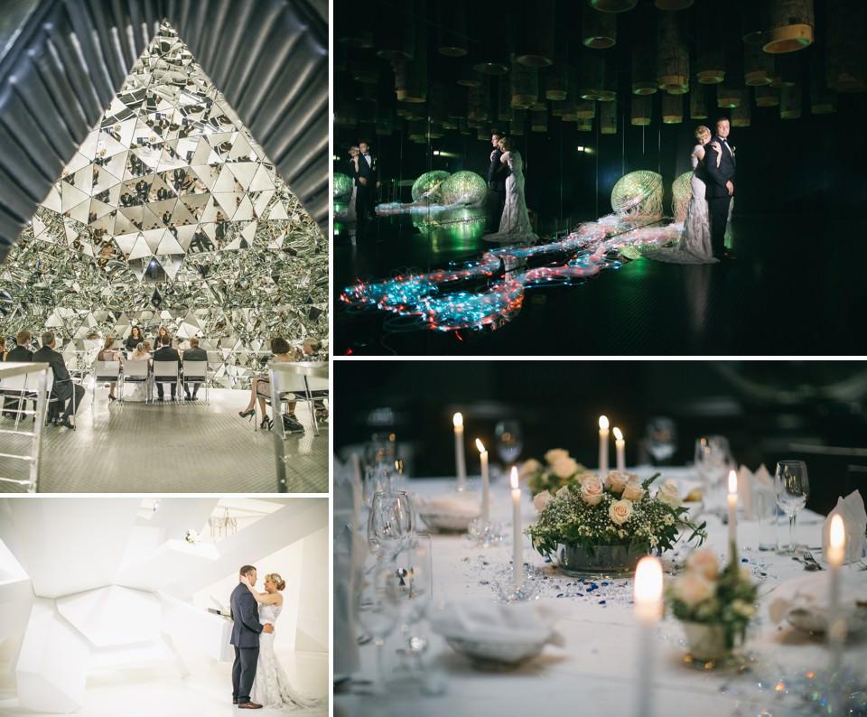 Top Hochzeitslocation Tirol | Heiraten in den Swarovski Kristallwelten | fotografiert von FORMA photography