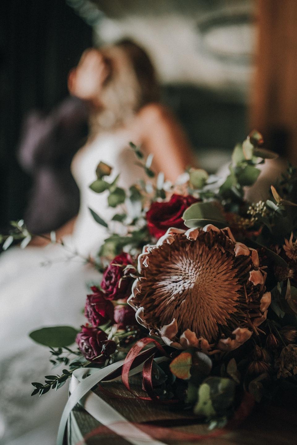 After Wedding Shooting, Zillertal, Brautpaar, Details, Blumen