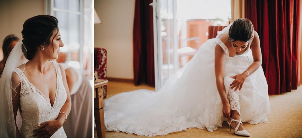 Hochzeit am Achensee, Strandhotel Entners, Getting Ready, Braut