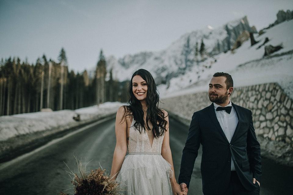 Elopement: Hochzeit in den Bergen