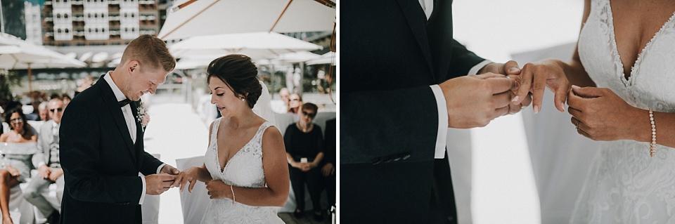 Hochzeit am Achensee, Strandhotel Entners, standesamtliche Trauung, Ringe