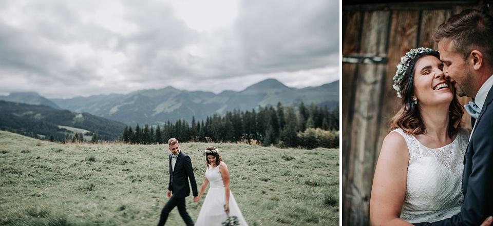 Hochzeit, Maierl Alm, Berge, Shooting, Brautpaar