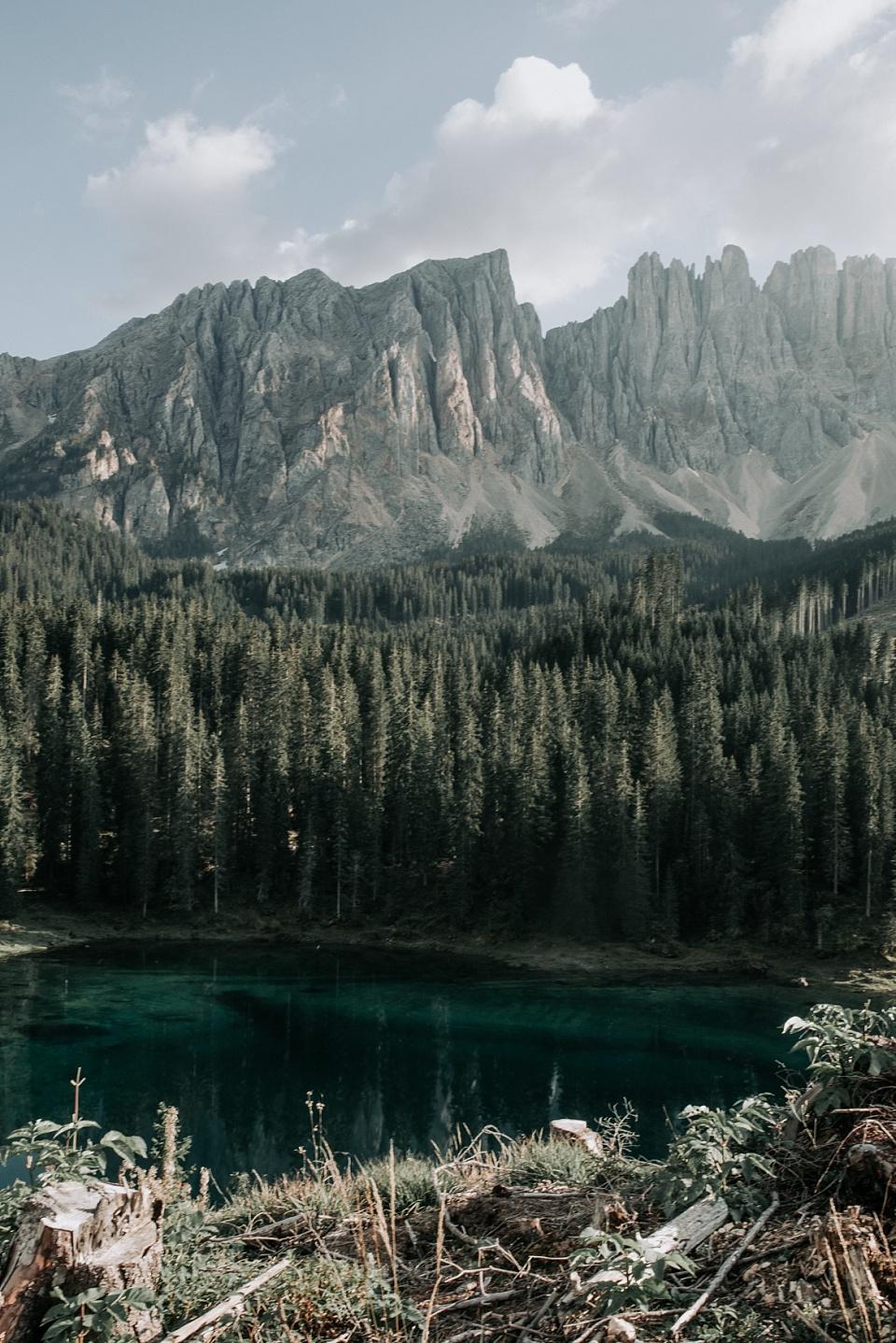 Karersee, Südtirol, Panorama
