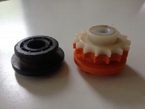 Formando 3D printing portfolio - Wisselstuk tandwiel zaagmachine 3D print