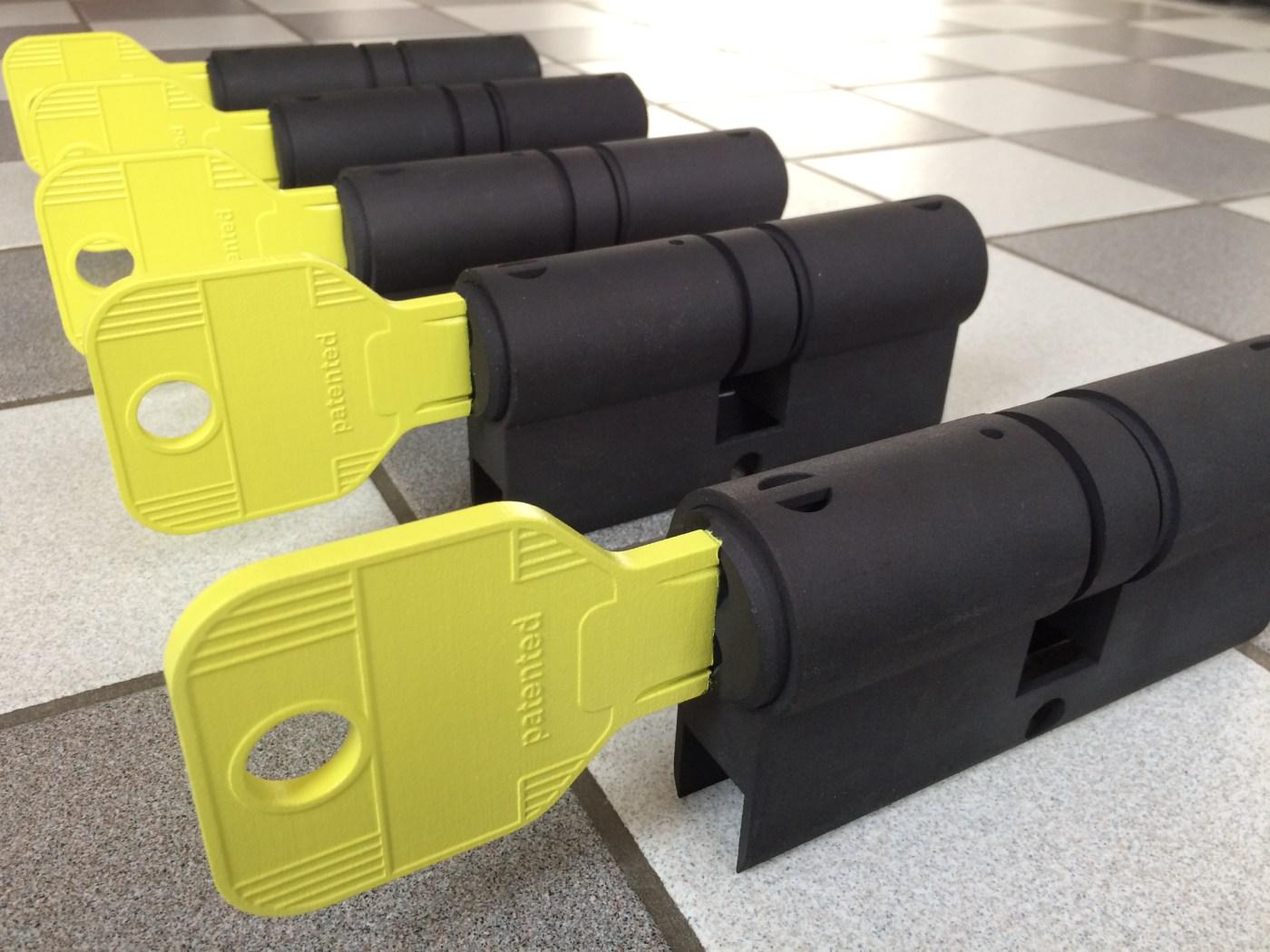 Formando - 3D print LED verlichting in vorm van cilinderslot