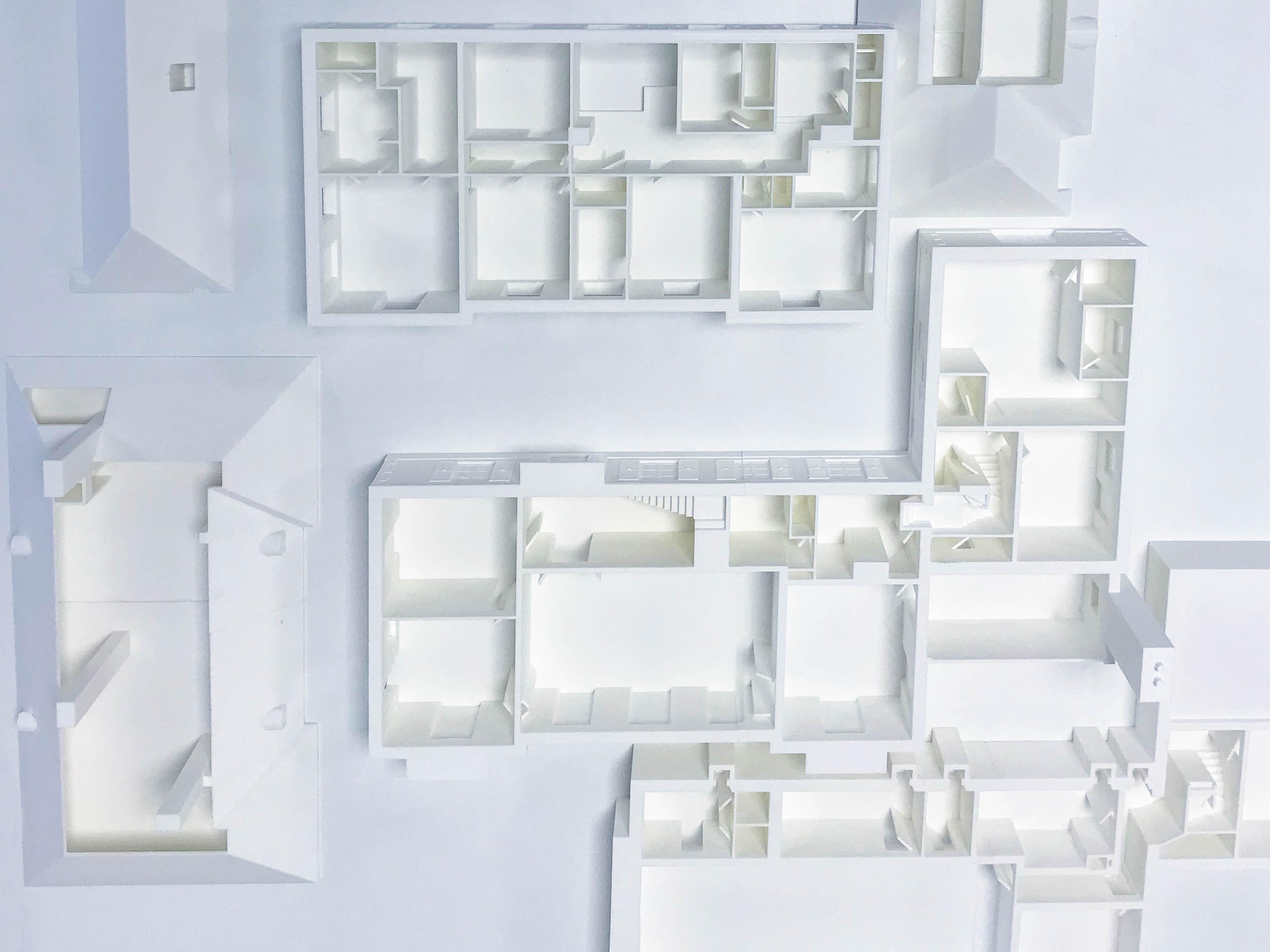 Dismountable house Model 3D print