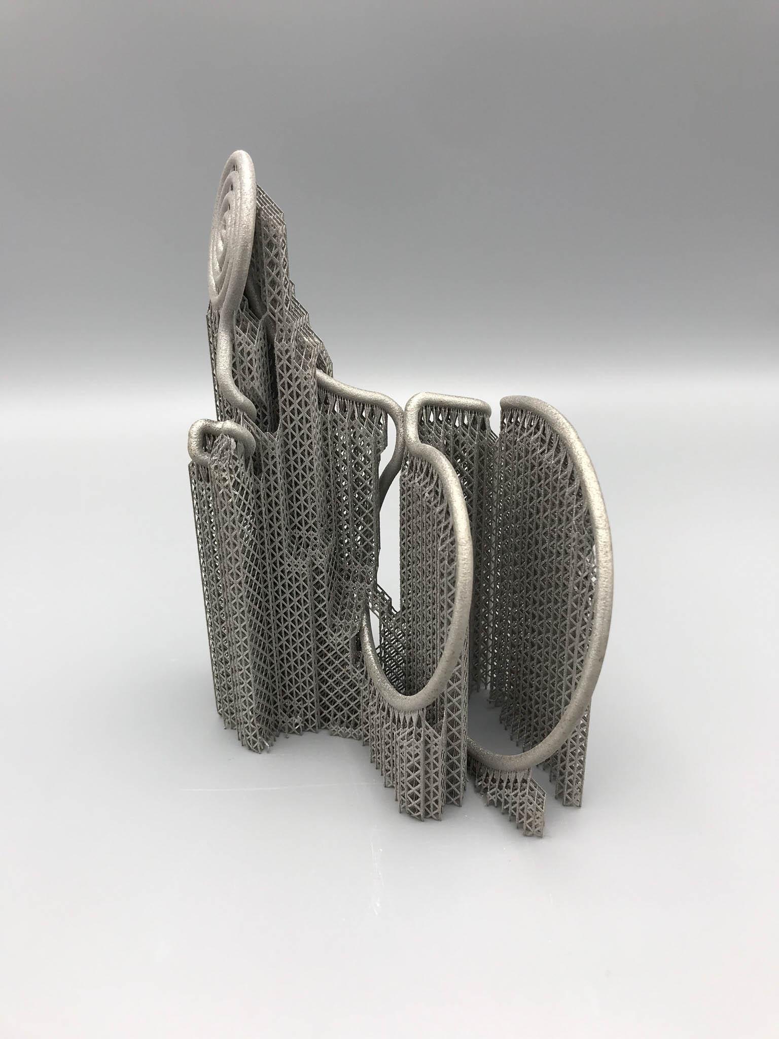 Metal 3D print art