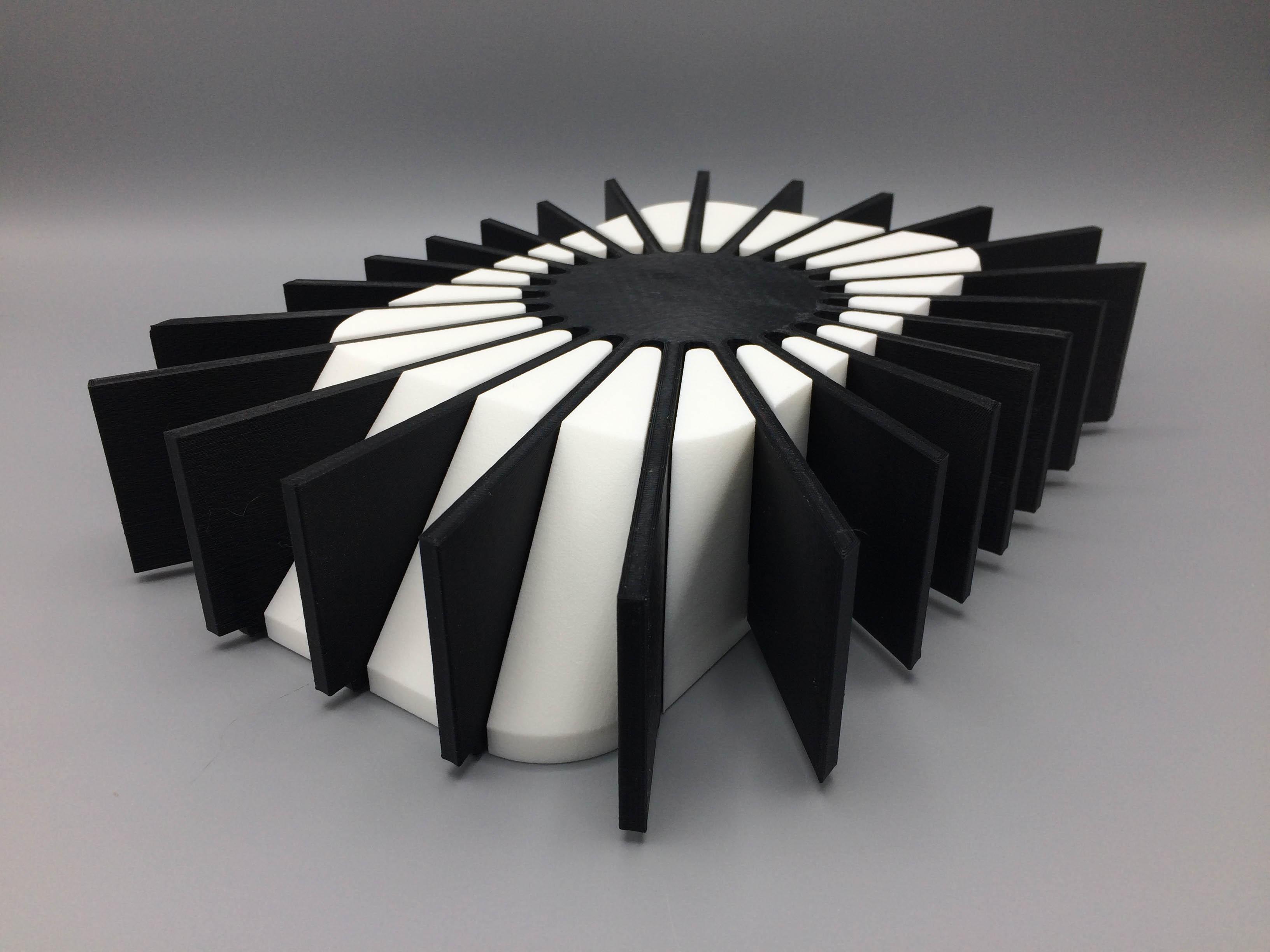Multimaterial 3D print