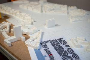 Maquette antwerpen assemblage
