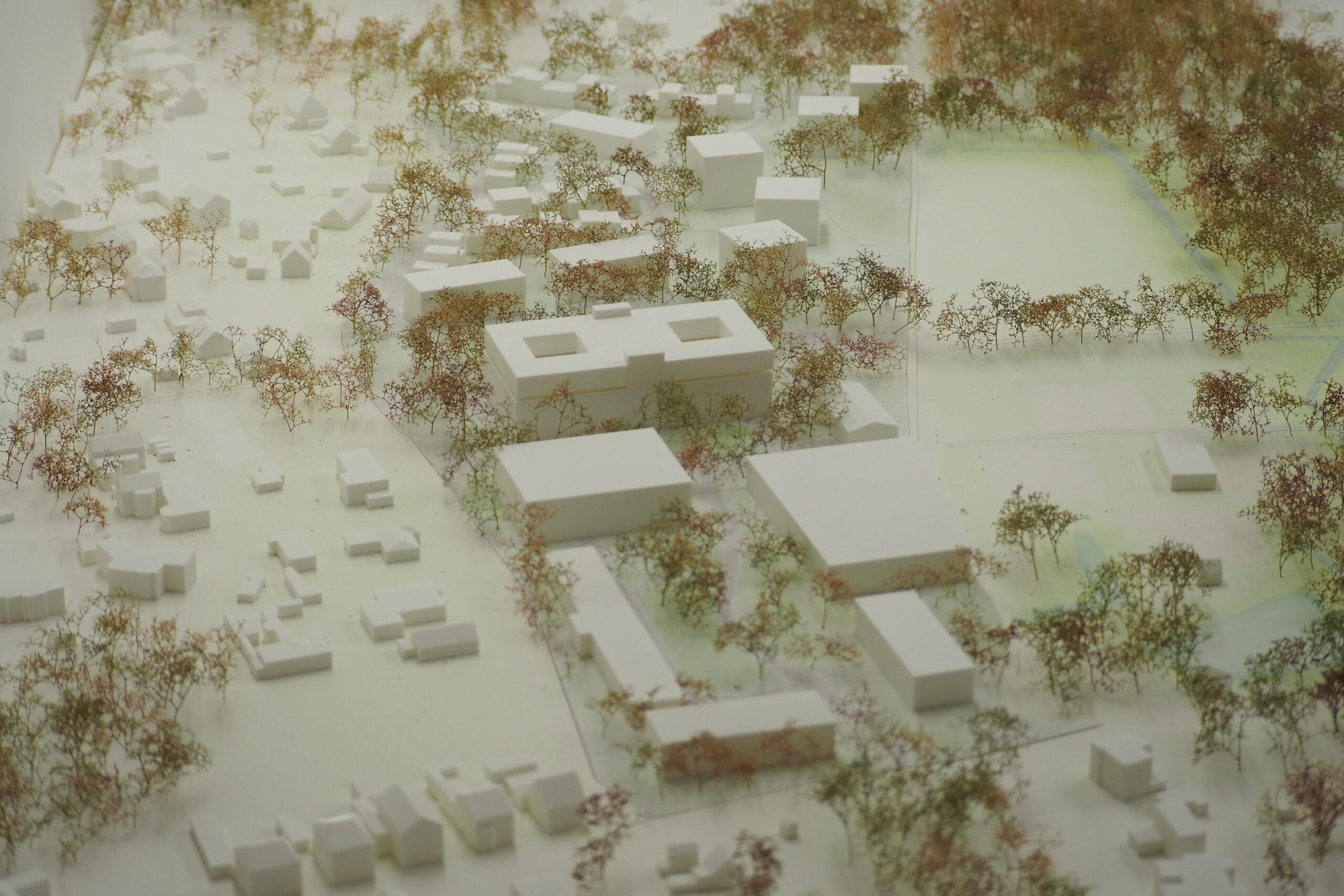Maquette 3D print Omgeving Architecten