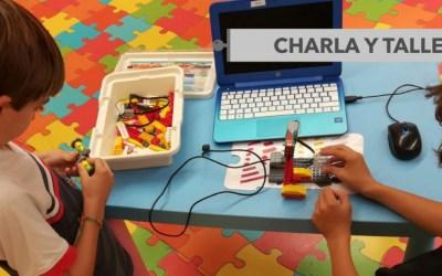 Charla demostrativa y taller de robótica en Alcalá de Henares