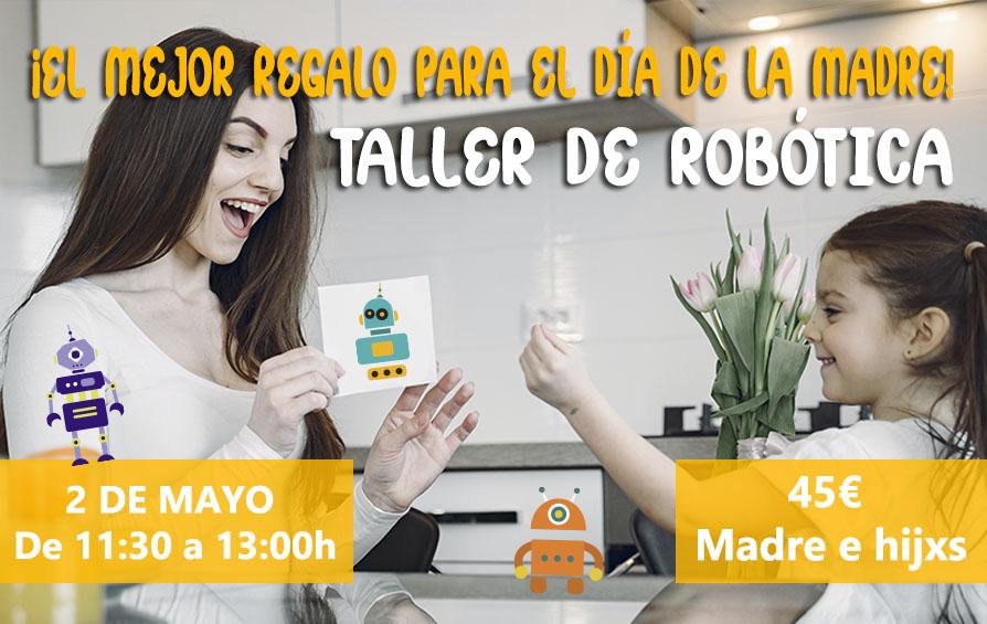taller robotica dia de la madre