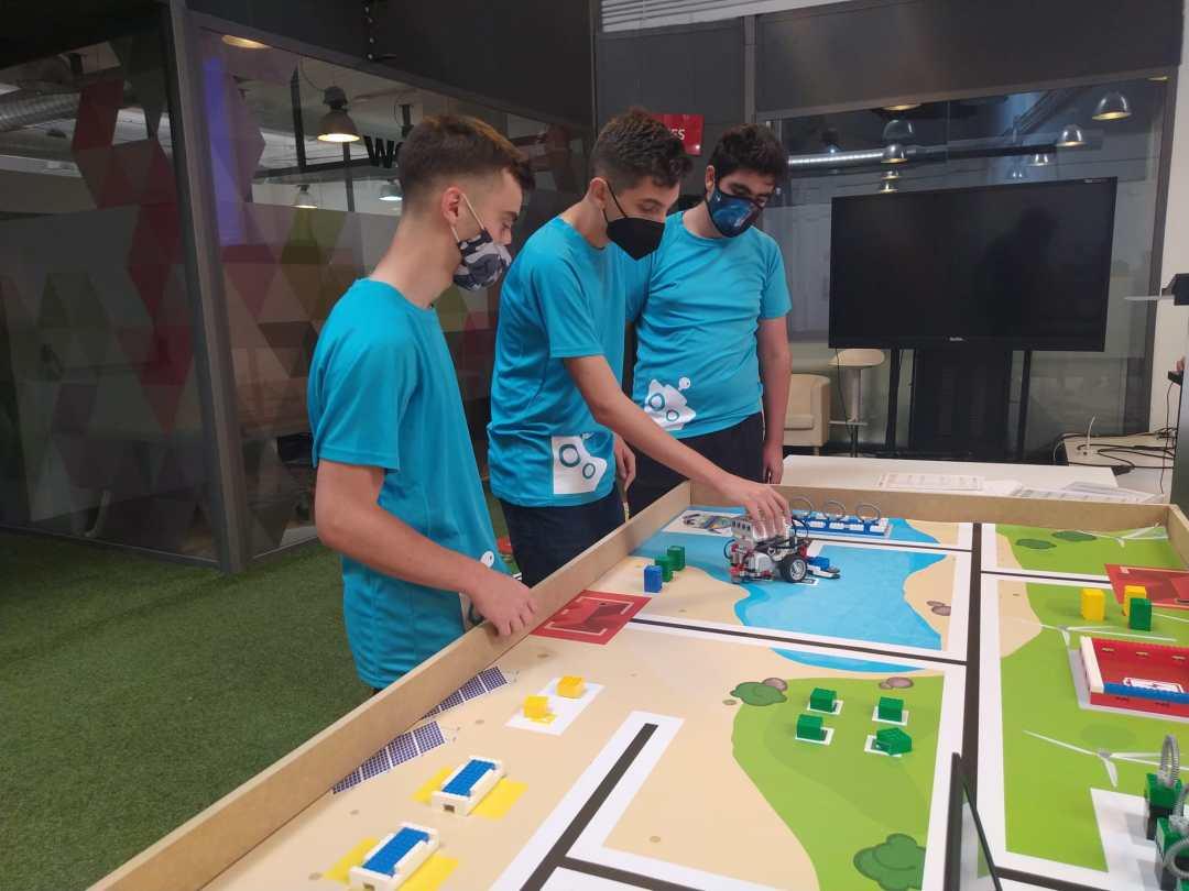 robot competición wro
