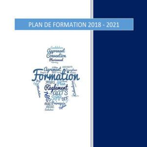 PLAN DE FORMATION 2018   2021 LIVRET 1