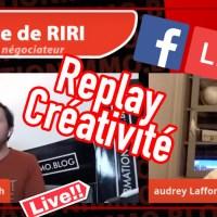 """La minute de RIRI """"créativité"""""""