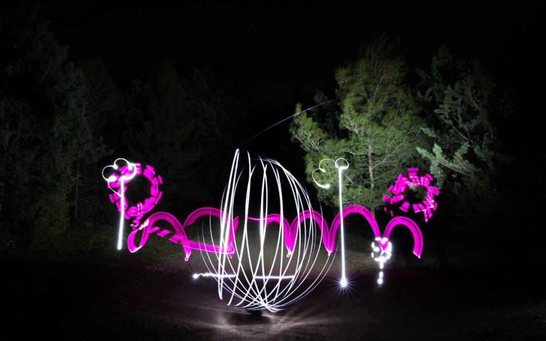 Light painting -Mardi 3 mai 2016