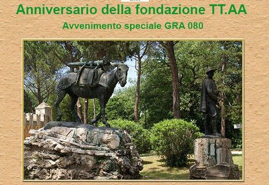 Attivazione HF GRA080 da Villa Borghese a Roma 18 ottobre 2015 – ARI – GRA – ANA