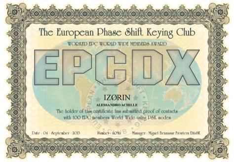 IZ0RIN-EPCMA-EPCDX