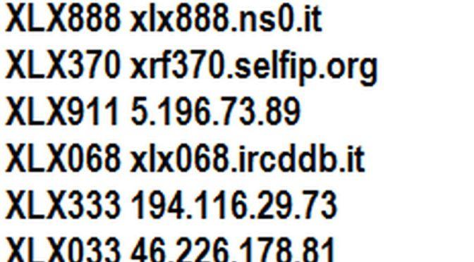 Facciamo il punto sulla rete XLX DSTAR Italia